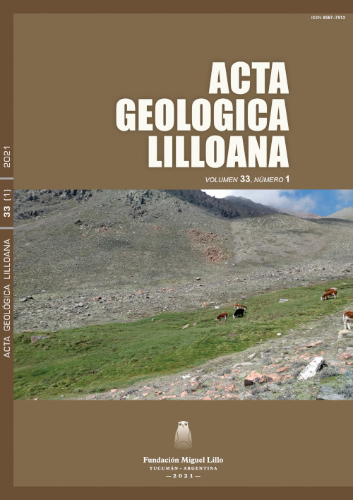 Ver Acta Geológica Lilloana 33 (1) (2021)