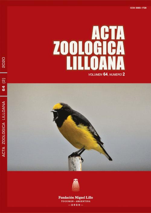 Ver Acta Zoológica Lilloana 64 (2) (2020)