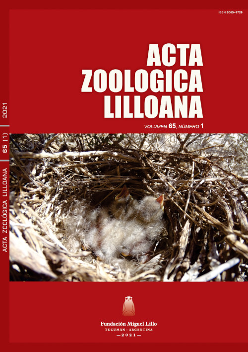 Ver Acta Zoológica Lilloana 65 (1) (2021)