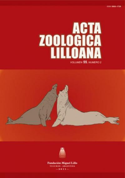 Ver Acta Zoológica Lilloana 55 (2) (2011)