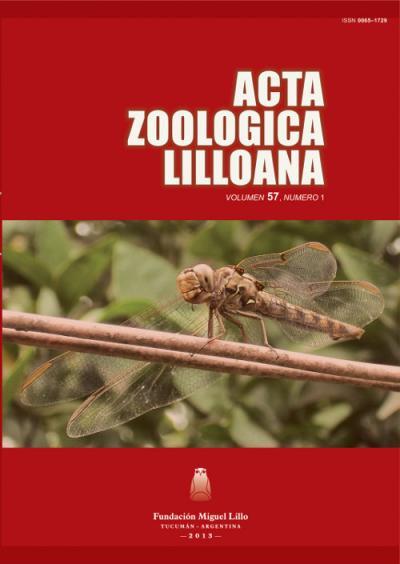 Ver Acta Zoológica Lilloana 57 (1) (2013)