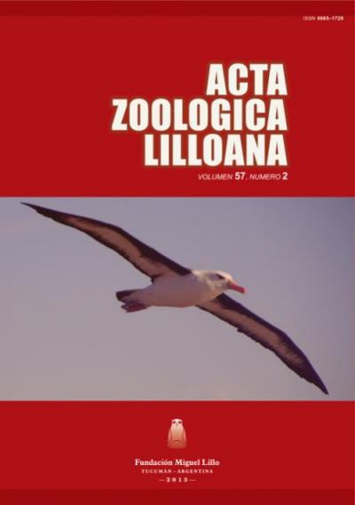 Ver Acta Zoológica Lilloana 57 (2) (2013)