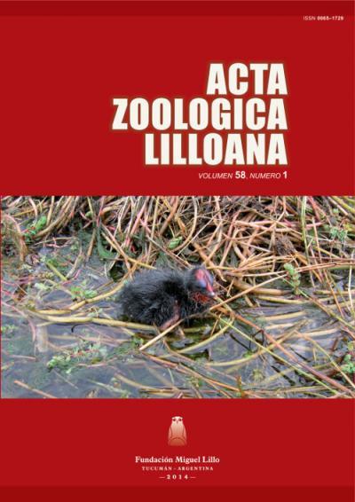 Ver Acta Zoológica Lilloana 58 (1) (2014)
