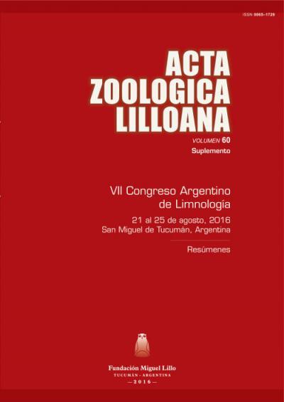 Ver Acta Zoológica Lilloana 60 (Suplemento) (2016)