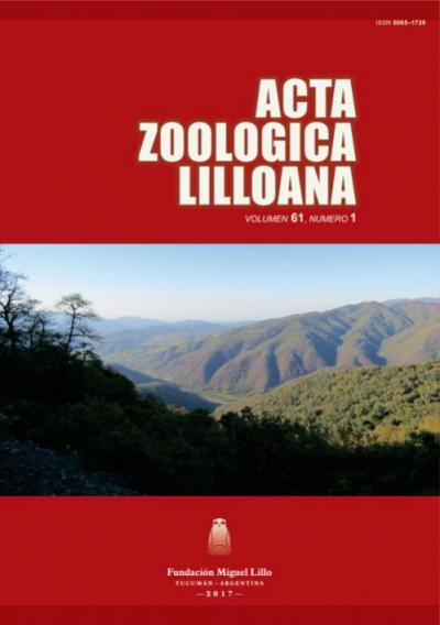 Ver Acta Zoológica Lilloana 61 (1) (2017)