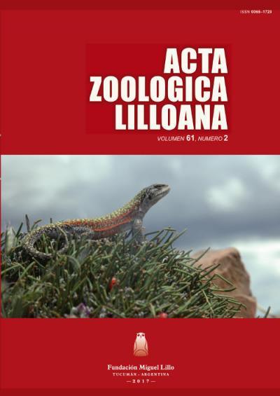 Ver Acta Zoológica Lilloana 61 (2) (2017)