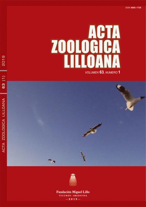 Ver Acta Zoológica Lilloana 63 (1) (2019)