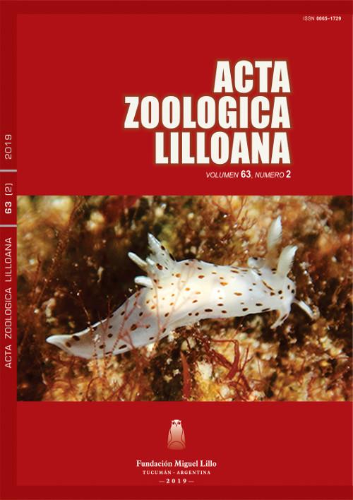 Ver Acta Zoológica Lilloana 63 (2) (2019)