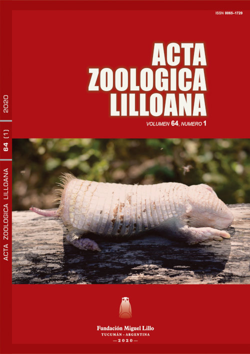 Acta Zoológica Lilloana 64 (1) (2020)