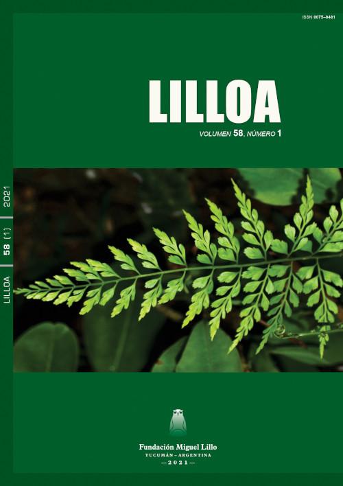 Lilloa 58 (1) (2021)
